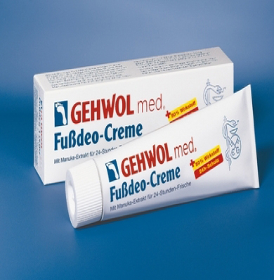 GEHWOL med. Fussdeo - Creme 125ml